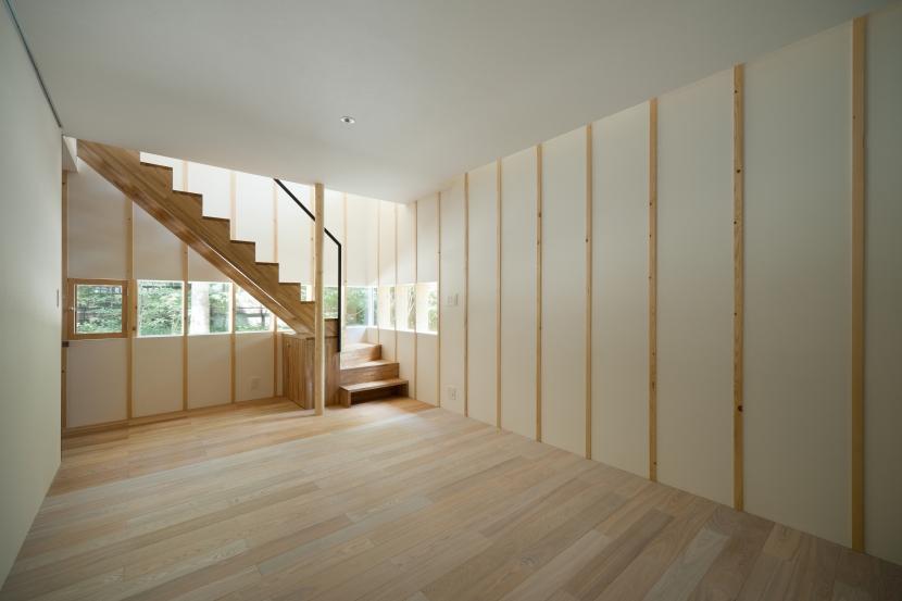 軽井沢Y邸の部屋 寝室