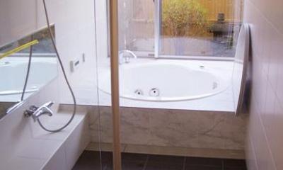 熊本の家 (浴室)
