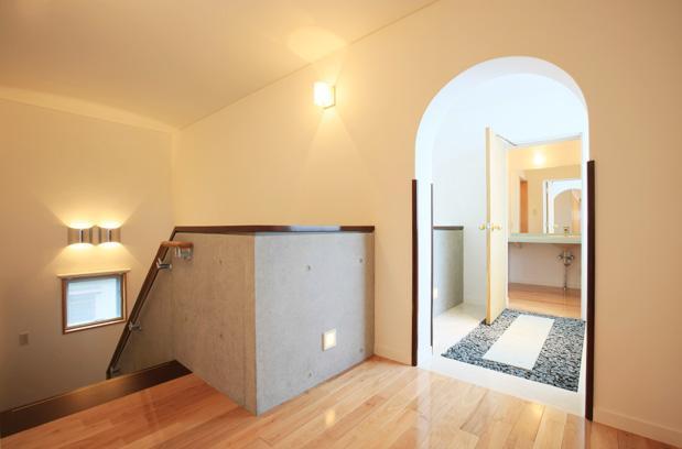 熊本の家の部屋 2階階段ホール