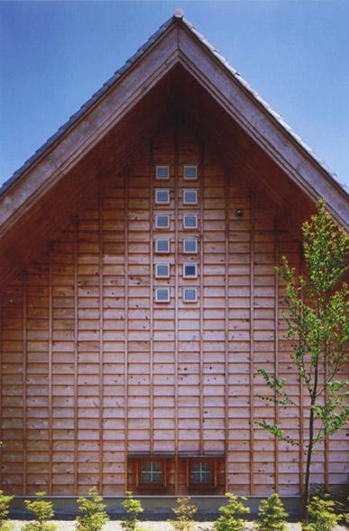本庄の家の写真 道路側外観