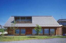 本庄の家 (南側外観 1)