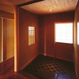 本庄の家 (玄関)
