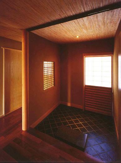 本庄の家の部屋 玄関