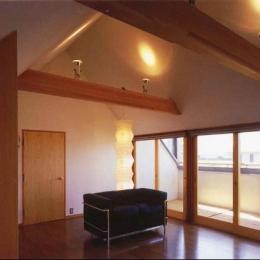 2階寝室 (本庄の家)