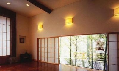居間 2|牧師館(松澤邸)