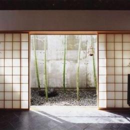 牧師館(松澤邸) (地下牧師室からドライエリアを見る)