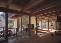 北鎌倉の家 (茶の間)