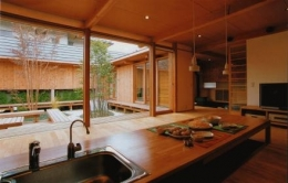 松戸の家 (キッチン)