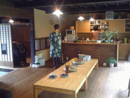 長柄の家の部屋 茶の間・キッチン