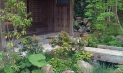 ギャラリー入り口|長柄の家