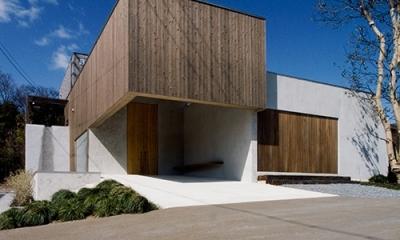 中庭と水盤のある家|穏やかな時がながれる平屋の空間|穏やかな時がながれる平屋の空間|中庭と水盤のある家 - BREATH