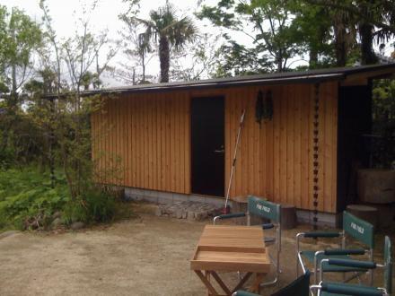 長柄の家の部屋 倉庫