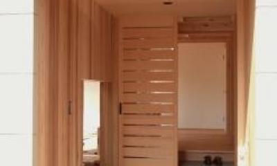 杉並の家 (玄関ポーチ)