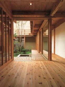杉並の家の部屋 玄関