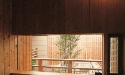 杉並の家 (浴室)