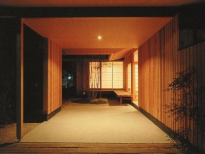 三原の家 (玄関ポーチ-2)