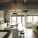 リノベる。の住宅事例「リビングに集う家族の空間」