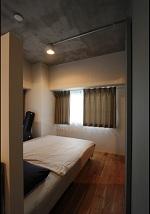 しかくとくるみと未完成の部屋 ベッドルーム