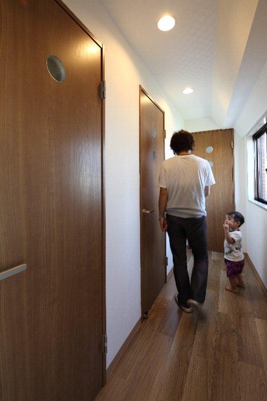 台東区I邸:マンションリノベーション (廊下)