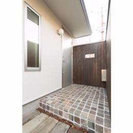 オリジナルキッチンがこだわり 阿佐ヶ谷北 A区間 (玄関(外))