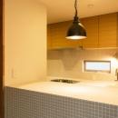 シンクタウンの住宅事例「オリジナルキッチンがこだわり 阿佐ヶ谷北 A区間」