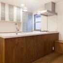 シンクタウンの住宅事例「オーク材を贅沢に使い 落ち着いた空間に 三鷹市牟礼6丁目」