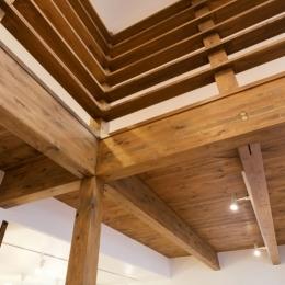 梁のある天井
