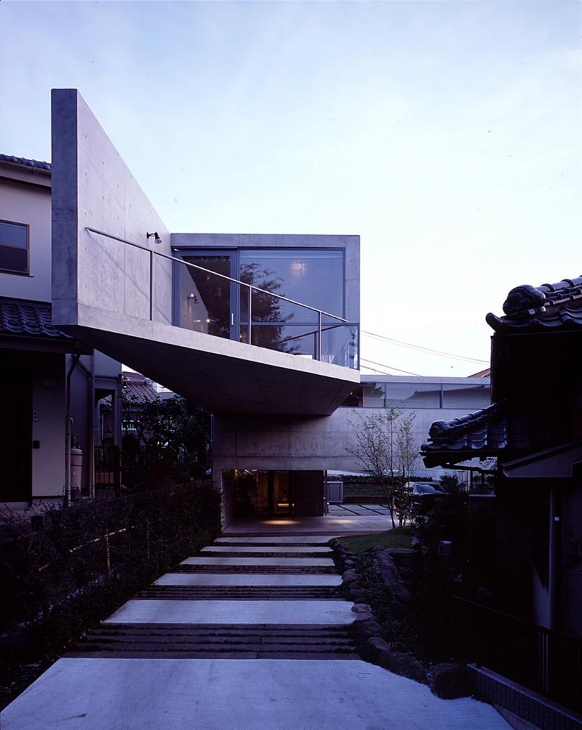 二俣川の家の部屋 外観 アプローチ