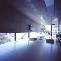 二俣川の家 (リビング)
