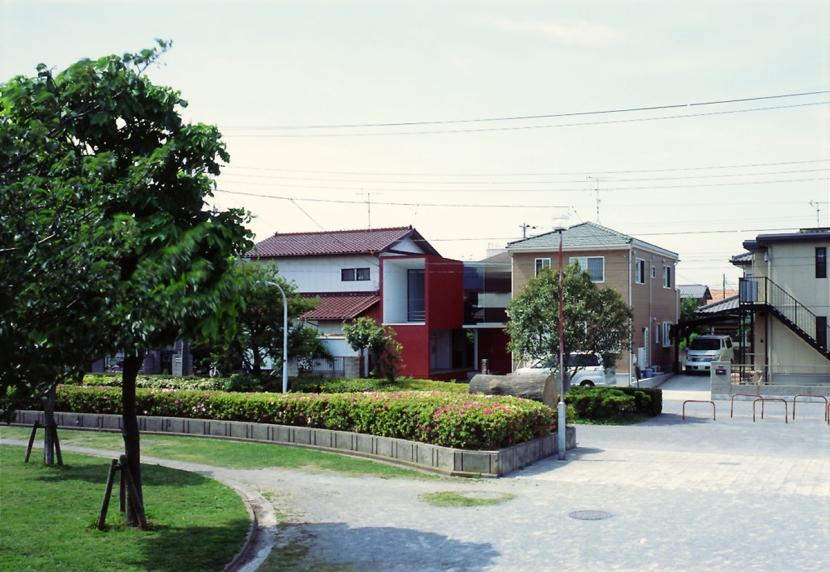 香澄の家の部屋 外観 遠景