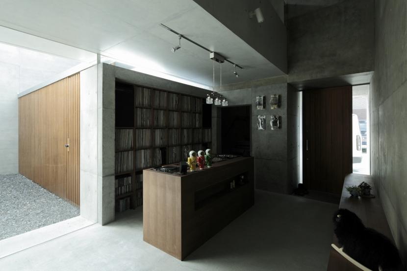 静岡の家の部屋 DJスペース