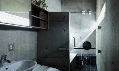 静岡の家 (浴室)