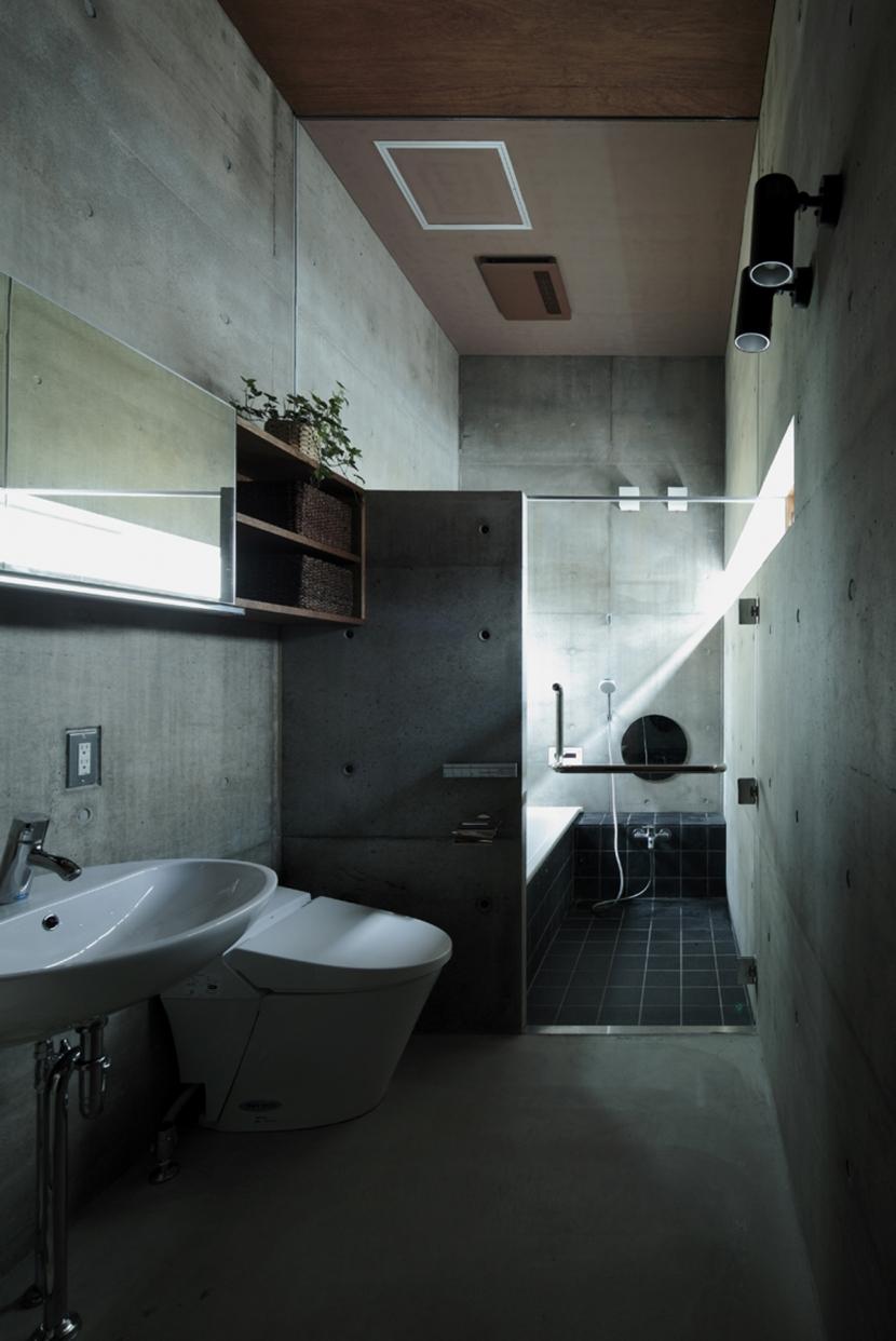 静岡の家の部屋 浴室