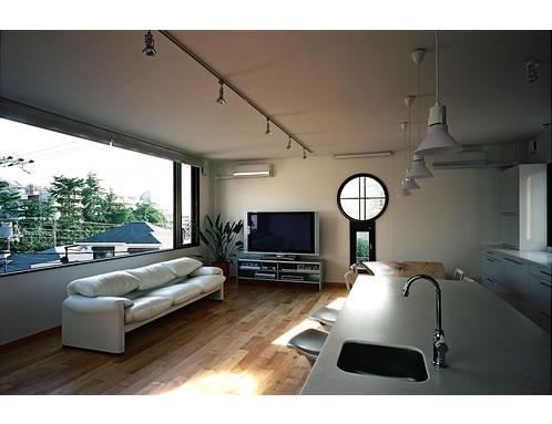 空の家の写真 リビングルーム