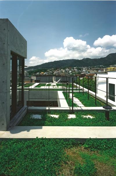 屋上庭園 (空の家)
