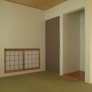 ロフトのある二世帯住宅の写真 和室