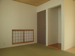 ロフトのある二世帯住宅 (和室)