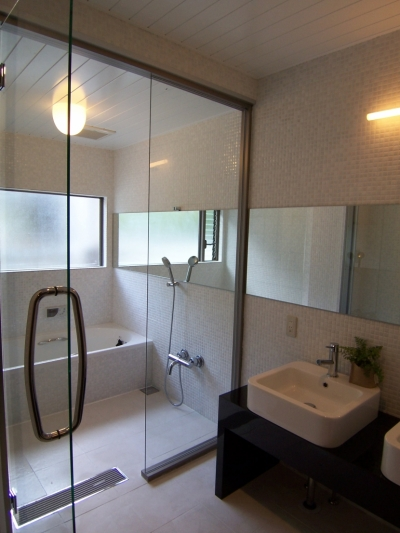 西宮リノベーション (浴室)