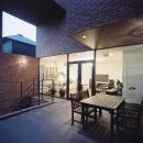 平賀 久生の住宅事例「傾斜地の家」