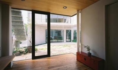 対の家 (中庭2)