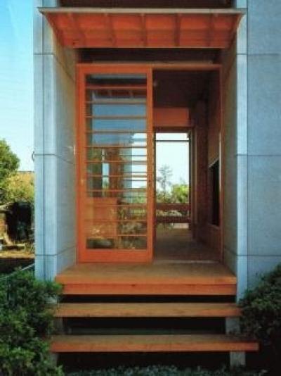玄関 (亀井野の家)