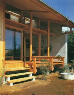 亀井野の家の部屋 前庭-After