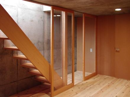 等々力の家 (地下室)
