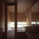 東御の家の写真 浴室