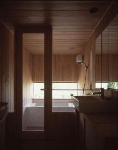 浴室 (東御の家)