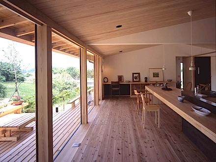 建築家:DON工房「東御の家」