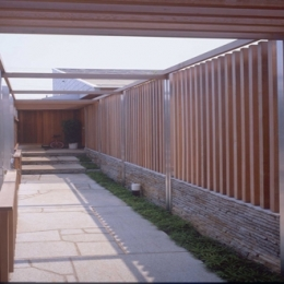 船堀の家 (玄関ポーチ)