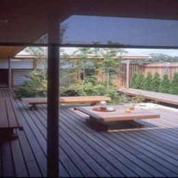 船堀の家 (中庭)
