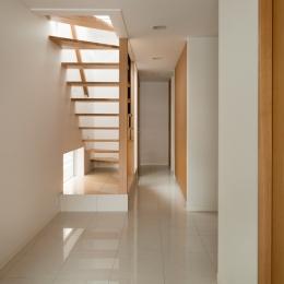 西荻の家 (玄関)