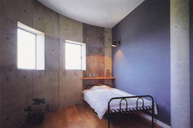 子供部屋事例:半円形の子供室(三方が原戦場跡地に建つ家)